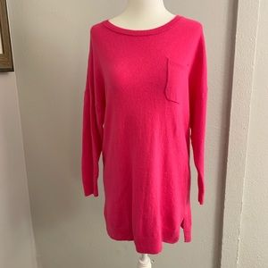 Vineyard Vines Long Pink Sweater Size S